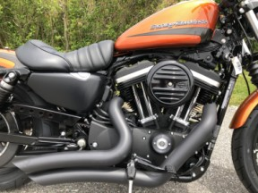 NEW 2020 Harley-Davidson® Iron 883™ XL883N w/Stage I, V&H Pipes thumb 0