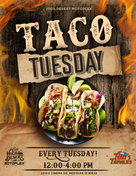 TACO TUESDAY EVERY TUESDAY