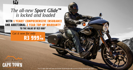 The all-new Sport Glide™ is locked and loaded