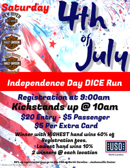 Independence Day Poker Run