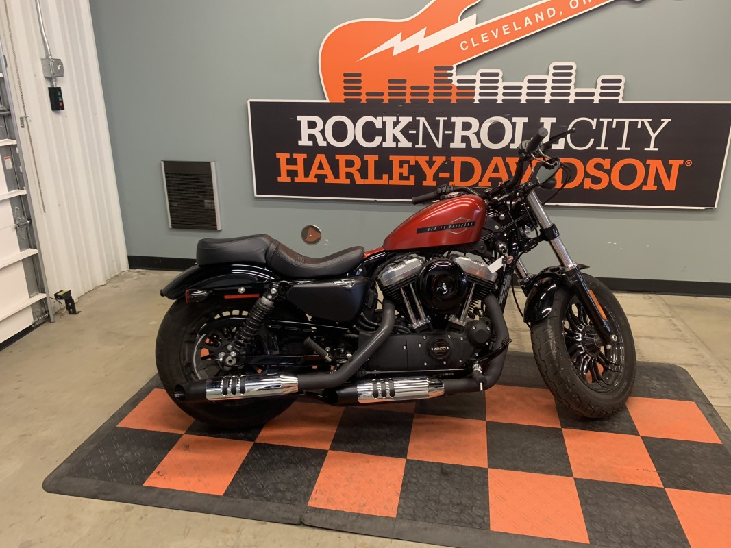Harley-Davidson<sup>®</sup> Forty-Eight<sup>®</sup> 2019 XL 1200X 429830U-RNR WICKED RED DNM