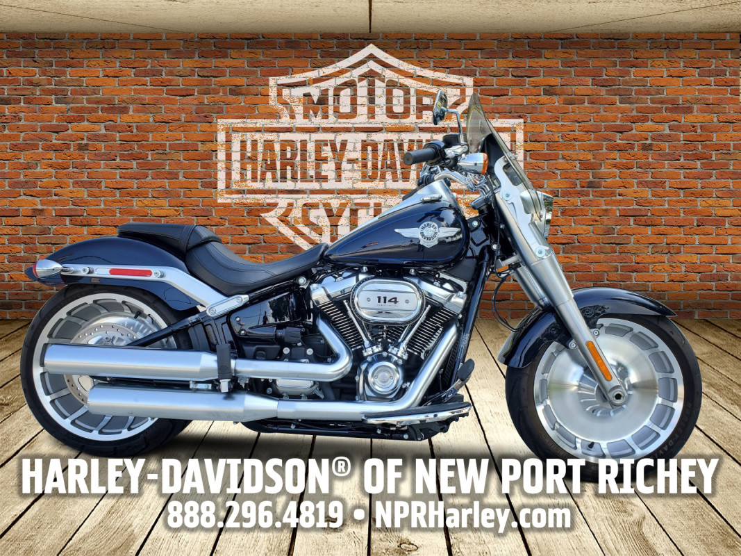 2019 Harley-Davidson<sup>®</sup> Fat Boy<sup>®</sup> 114