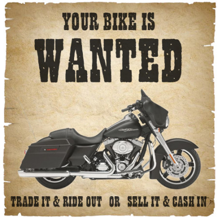 Your Bike is WANTED