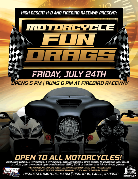MOTORCYCLE FUN DRAGS
