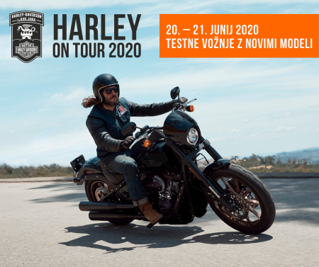 HARLEY ON TOUR 2020