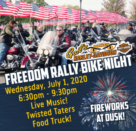 Freedom Rally Bike Night