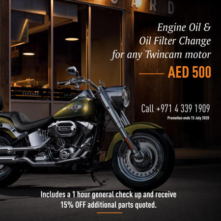 Twimcam Engine Oil & Oil Filter Promotion
