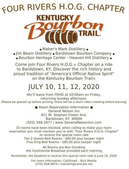 Bourbon Trail Ride