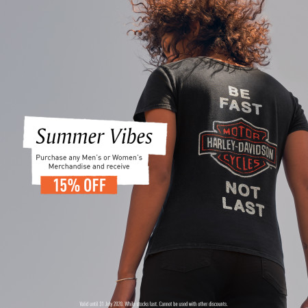 Summer Vibes - 15% OFF Merchandise
