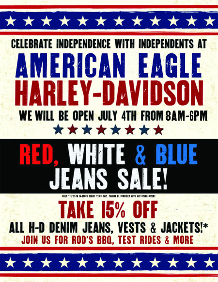 We Are Open The 4th Of July!!