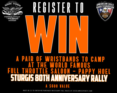 Road To Sturgis 2020 Giveaway!!