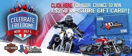 Celebrate the 4th of July with Dallas H-D!