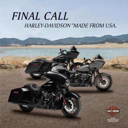 special Price Harley-Davidson MY2019 made from USA