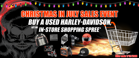 Christmas in July Sales Event