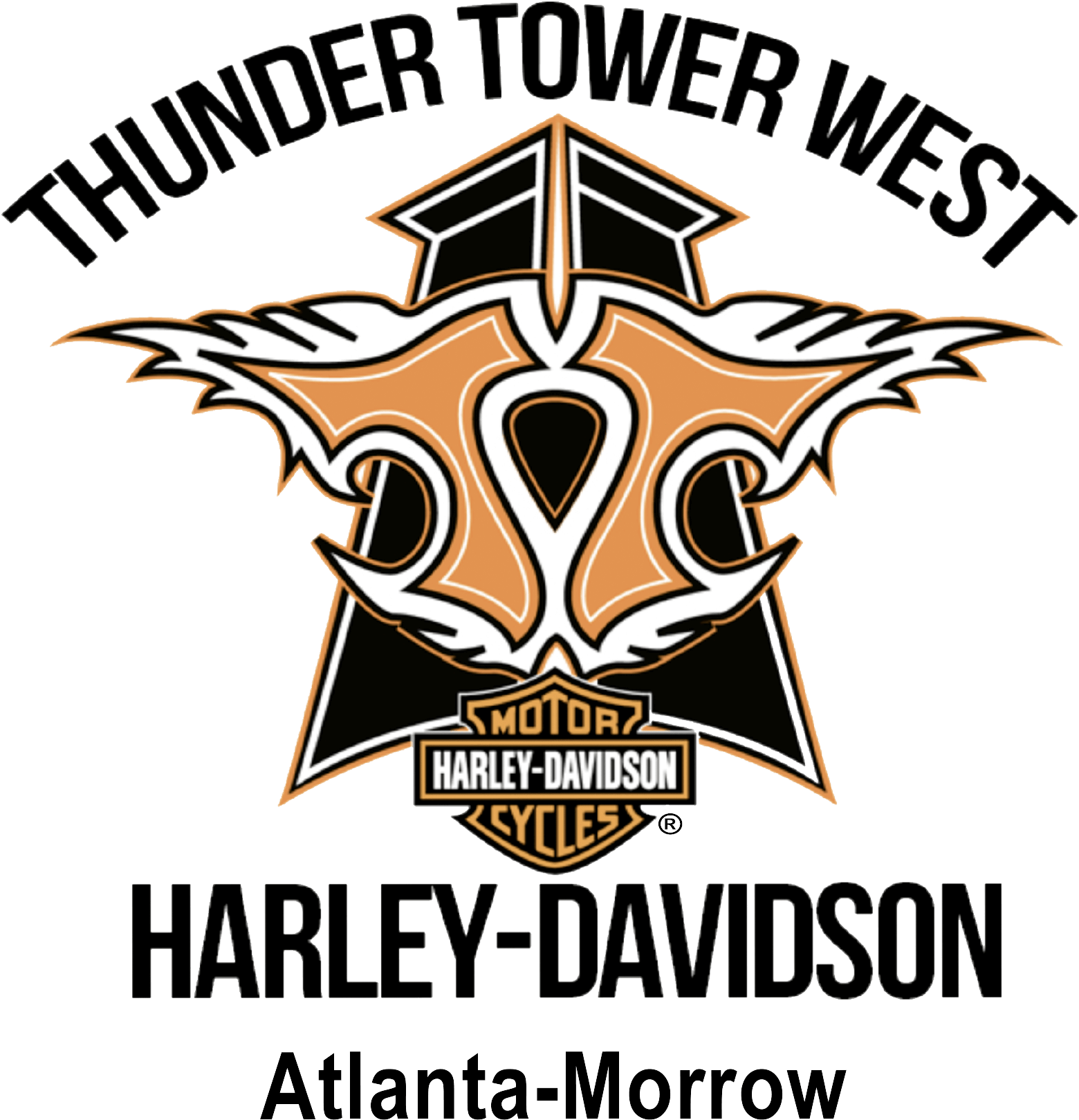 Thunder Tower West Harley-Davidson® logo