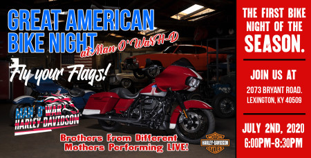 Great American Bike Night at Man O' War H-D