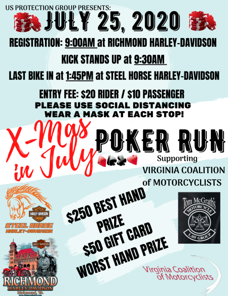 X-mas in July Poker Run