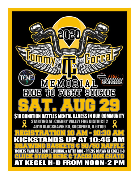 TCMF 7th Annual Ride to Fight Suicide