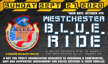 SAVE THE DATE: Westchester B.L.U.E. Ride
