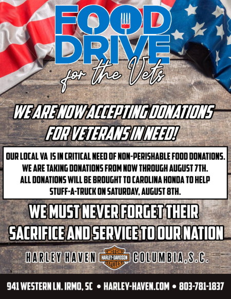Food Drive for the Vets