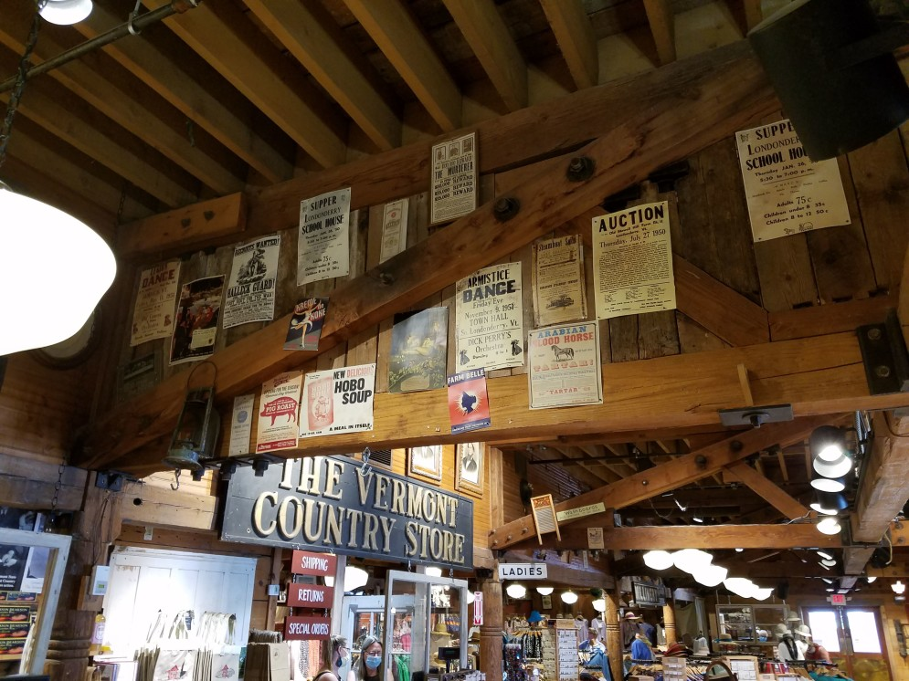 Inside The Vermont Country Store in Westin