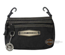 Harley-Davidson® Taupe Rally Rubber Patch Hip Bag w/ Strap