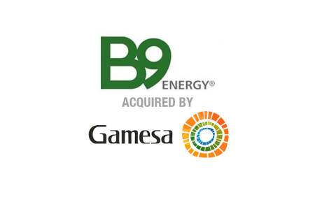 B9 Energy Acquired by Siemens Gamesa