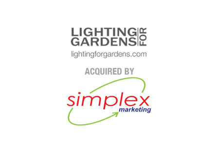Lighting For Gardens Limited Acquired by Simplex Marketing Limited