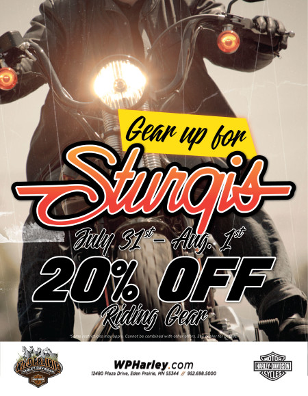 Gear up for Sturgis!