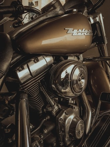 Performing maintenance on Harley-Davidson motorcycles