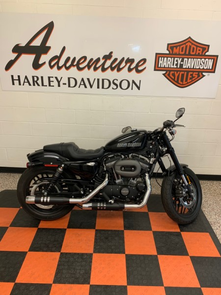 HD XL1200CX 2017 401125U-ADV BLACK W/PINSTRIPE