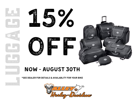 15% OFF LUGGAGE