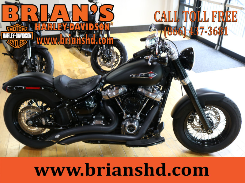 Used Low Mileage 2019 Harley-Davidson® Softail Slim FLSL