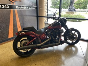 Starfire Black/Scorched Apple 2017 Harley-Davidson® CVO™ Pro Street Breakout® FXSE thumb 0