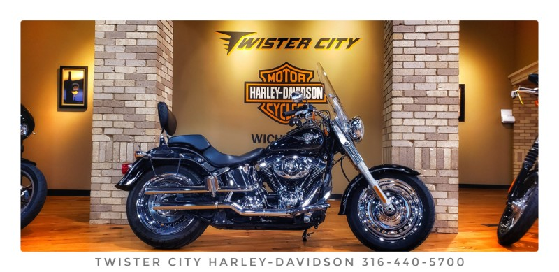 2014 Harley-Davidson® Fat Boy® : FLSTF for sale near Wichita, KS