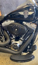 Vivid Black 2012 Harley-Davidson® Fat Boy® Lo thumb 2
