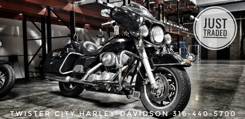 2003 Harley-Davidson® Electra Glide® Standard : FLHT for sale near Wichita, KS