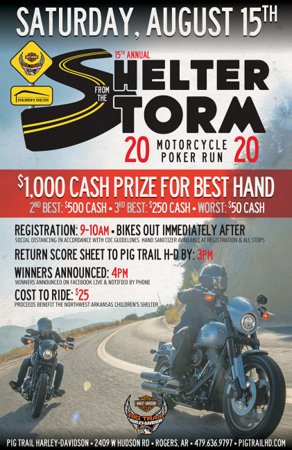 Shelter From The Storm Poker Run 2020
