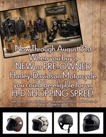 August Sales Promo