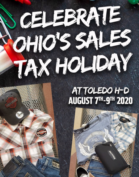 Ohio's Sales Tax Holiday