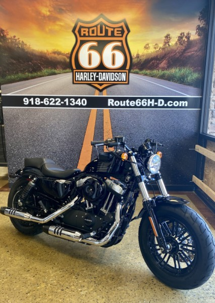 Black 2016 Harley-Davidson® Forty-Eight®