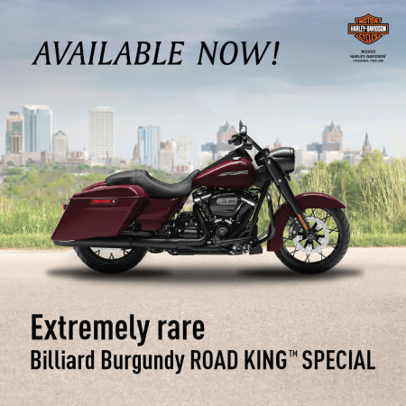 ROAD KING™ SPECIAL Billiard Burgundy Available Now!