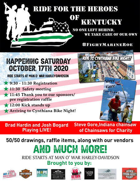 Ride for the Heroes of Kentucky