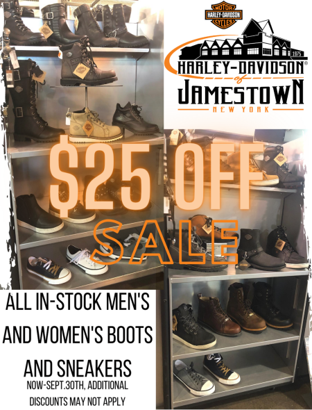 Men's and Women's Boots and Sneaker Sale