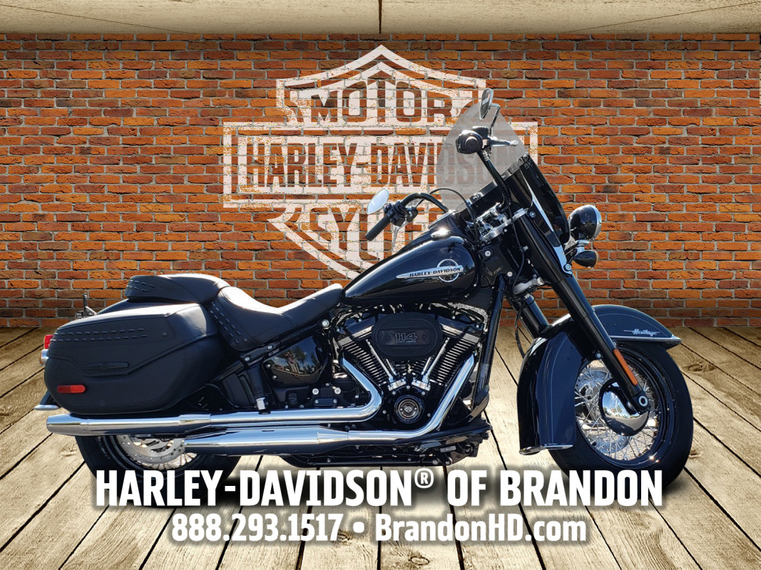 Harley-Davidson<sup>®</sup> 2020 Heritage Classic 114