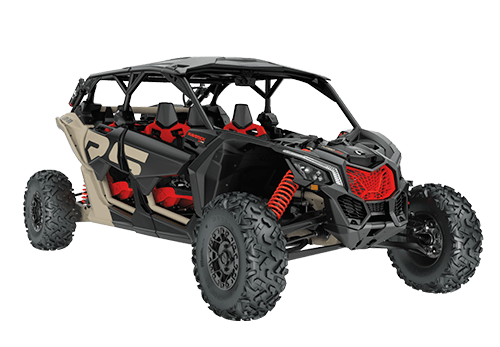 Maverick X3 Max X RS Turbo RR With Smart-shox