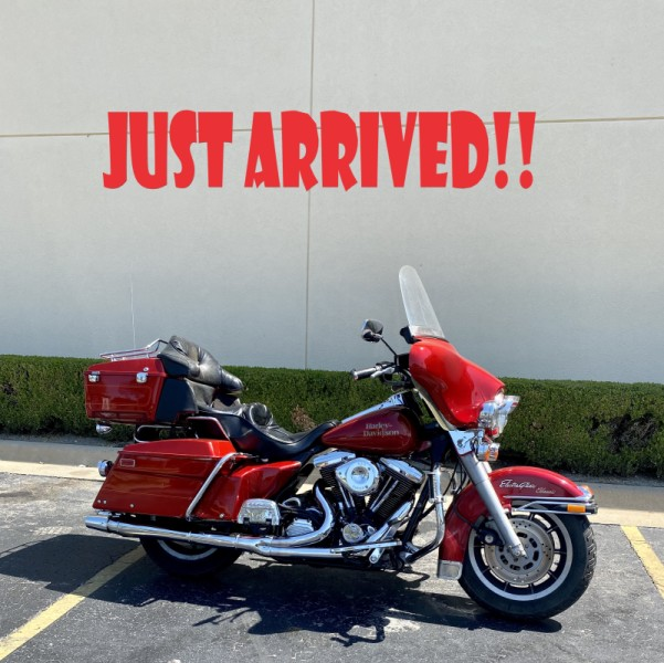 Red Hot Sunglow 1990 Harley-Davidson Ultra Classic FLHTCU