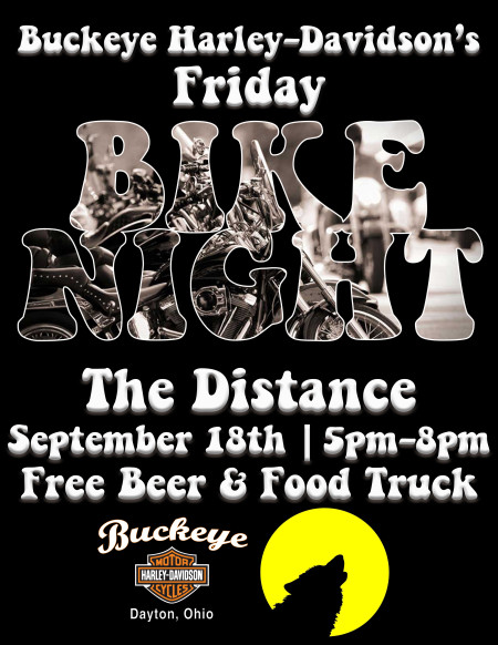 Bike Night w/The Distance