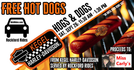 Hogs & Dogs - Served by Rockford Rides
