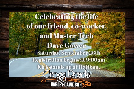 Dave Gower Memorial Ride